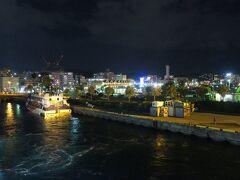 定刻の23時に鹿児島港を出港です。これから9日間に渡るトカラ旅がスタートです。