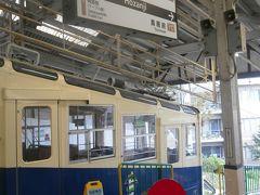 宝山寺駅に到着しました。ここで山上線に乗り換えます。