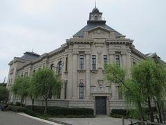 着いたのは新潟市歴史博物館です。 建物は2代目新潟市役所庁舎を元にしたデザインです。