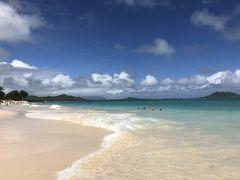 カイルアビーチもとっても美しいですが、時間があったのでラニカイビーチまで行って良かったです。