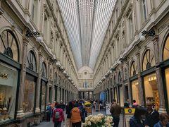 ヨーロッパ最古のアーケードの一つ、ギャルリー・サン・チュベール