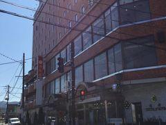 今日は「駅前フジグランドホテル」に1泊。会津若松の駅からは歩いてすぐの好立地。