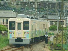 2019.04.30 下仁田ゆき普通列車車内 上州一ノ宮で同じく700形=107系と行きかう。