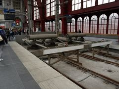 アントワープ中央駅到着