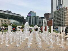 5月5日(土) 旅2日目。 11:00 ソウル広場を覗いて見たら、イベントが開かれていました。