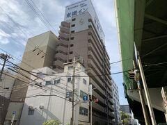 南森町に着きました。 今日の宿「東横イン大阪梅田東」にチェックイン! GW中にもかかわらず、6,800円の激安価格(会員価格)でした。 もちろん快適に過ごせました。