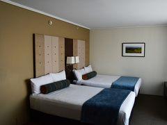 ニュージーランドのホテルはどこも部屋が広々としていて、ゆったりとしていました。