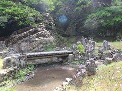 細島にある妙国寺の庭園。 繁栄していた細島のお寺なので、大きな規模と見事な庭園を持っていました。 この庭園は国指定名勝となっています。