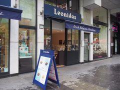 <レオニダス> こちらは庶民的なお値段ということで、ベルギー、オランダに展開されています。