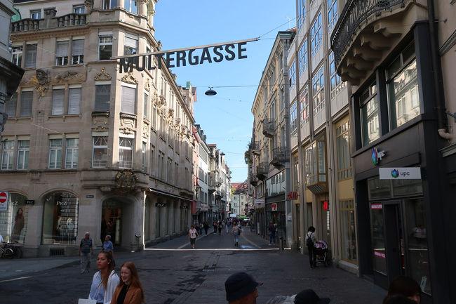 旧市街地のムルテル通りの入口