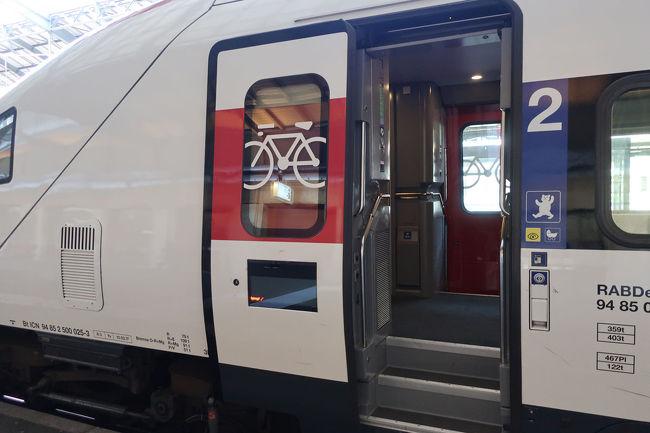 ヨーロッパの鉄道は、自転車を乗せる場所がある列車が多い気がします