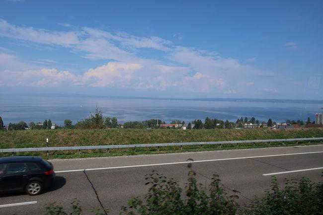 ボーデン湖を左手に見ながら、アウトバーンでミュンヘンを目指します