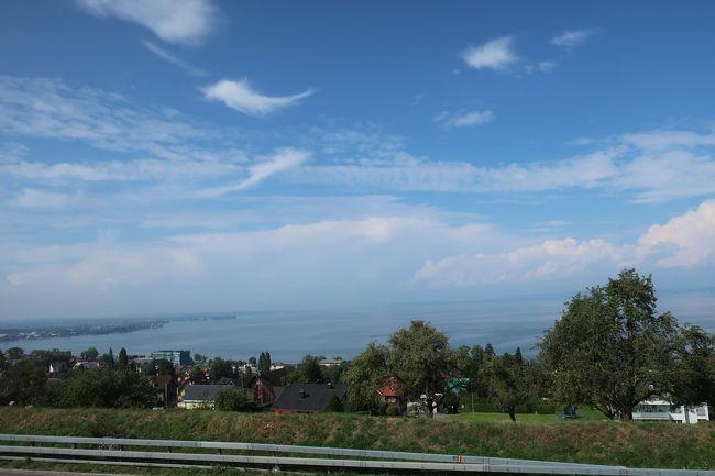 最後の最後まで、本当に素晴らしい天気で、ボーデン湖もしっかりと見えていて、また来いよと見送ってくれているようです