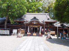 駅から徒歩約10分 まずは、尾鷲神社へ
