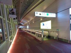 今回は成田夜発、羽田夜着でした。