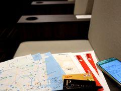 国際線、しかも出国後エリアじゃんかよ。(≡д≡)  だよねぇ。 宮崎行きLCC6千円の客が、KAL(大韓航空)ラウンジでお腹を満たそうなんざ ちゃんちゃらおかしな話で。  結局いつもの「IASS EXECUTIVE LOUNGE 2」でしずしずとコーラを飲む。