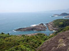 「願いが叶うクルスの海」  岩礁が十字架みたいになってるから「クルス」(ポルトガル語で十字) 上空から見ると「叶」って字にも見える場所。
