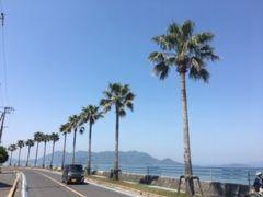 生口島の瀬戸田ビーチ