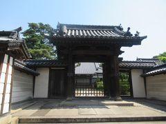 倉敷地区で最も古い本堂を持つという浄土宗 誓願寺。1849年創建。