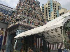 リトルインディアにある  スリ・ヴィラマカリアマン寺院  ただ中に入れなかったので、外観だけ。