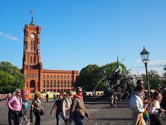 アレクサンダー広場です。 明日にはフランクフルトへ戻るので少し散策をしてみました。