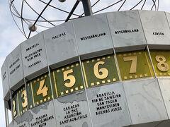 翌日です。 フランクフルトへ戻る前に近場をウロウロします。 世界時計をようやく見に行きました。