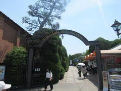 5月13日午前。 倉敷美観地区・倉敷川畔の散策をしたあとで倉敷アイビースクエアにやって来ました。