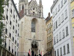 南下してきて、教会が見えました。  「マリア・アム・ゲシュターデ」