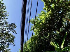 【ヴィエンチャンの光景】  この電線の量..........
