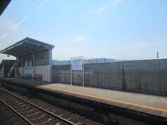 2面2線の西富井駅。