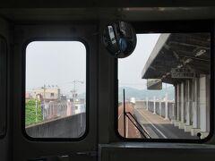 常盤駅。来るときに駅の写真が撮れなかったのでリベンジ。