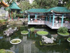 嗇色園黄大仙廟 玉液池
