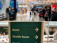 下調べ通り、自動ゲートから入国は秒速でできました。 香港のe道みたい。 Customも昔何度も通過してるので、すんなり。到着から30分後にはロビーに出ていました。これには拍子ぬけ。  ただいまシドニー Good day Australia!  真っ直ぐ進んで、マックの手前を左に曲がり、国内線ターミナル2へ向かうため、シャトルバス乗り場に向かいます。 このマックの場所は昔から変わらないな☆