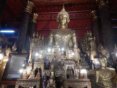 国立ルアンパバーン博物館のすぐお隣 Wat Mai