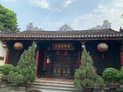 明郷華先堂 中国の集会所のようなもの。 朝早いので扉は閉まっていました。 とりあえず写真だけ。