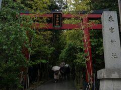 1時間かけて熱海に戻り 隣の駅,来宮へ  来宮神社では 御朱印に並んでる方もたくさんいました。  私も御朱印集め始めようかな。