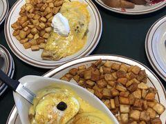 エッグアンドアイで朝ご飯