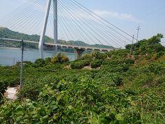12時05分 生口(いくち)島へと繋ぐ生口橋 第2の橋です。