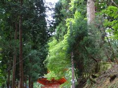 名草神社(なぐさじんじゃ)3重の塔は山奥にあるひっそりとたたずむ