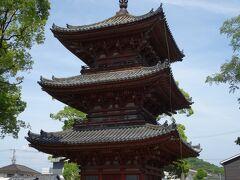 斑鳩寺(いかるがでら)3重の塔 斑鳩寺は、この播磨の地を治めるために、聖徳太子が建立したと伝えられています。