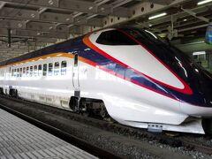 大石田から新庄まではそれほど離れていないので普通電車で十分なのですが、普通電車を待っていると、この後利用したい陸羽東線の列車に乗り換えができないため、新幹線つばさ号で新庄へ向かいました。