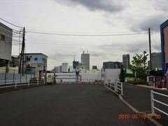 出入りの激しかった海幸橋門前も人一人いない・・・