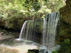CMで有名になった滝です。