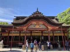 太宰府天満宮です。 菅原道真公を祀っており、学問の神様として有名です。