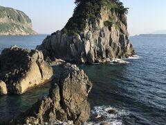 神津島、式根島一望