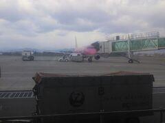 旅の始まりはフジドリームエアラインズで花巻空港へ