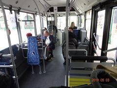 今日はマリオット ビレッジ イルドフランスからシャトルバス 往復3.9ユーロ に乗ってディズニーランドへ向かいます