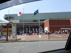 大和ミュージアムは入館の行列が出来ていました。ビックリ! さすが10連休。
