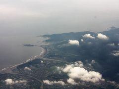 青島も見えた。