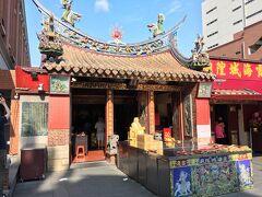 まずは霞海城隍廟に参拝。